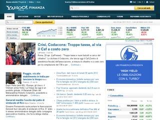Yahoo! Finanza